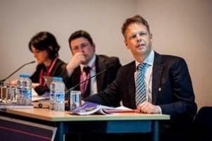 Professor Dichgans presenting at the European Stroke Science Workshop